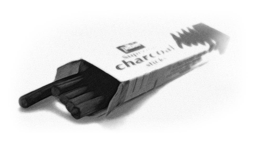 watercolor photoshop charcoal